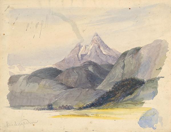 Friedrich Carl von Scheidlin – Motívy z Berchtesgadenu