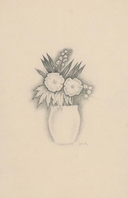 Mikuláš Galanda – Kytica kvetov vo váze