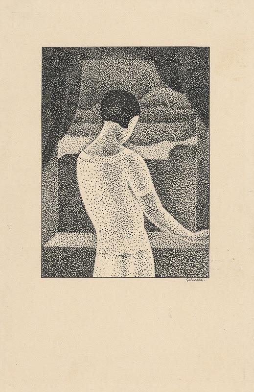 Mikuláš Galanda – Žena pri okne