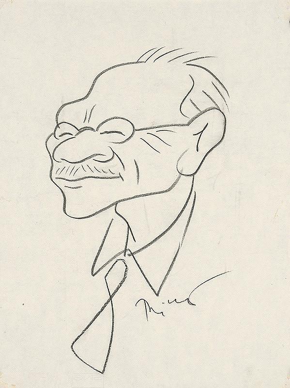 Alexander Richter – Karikatúra prof. dr. Wagnera