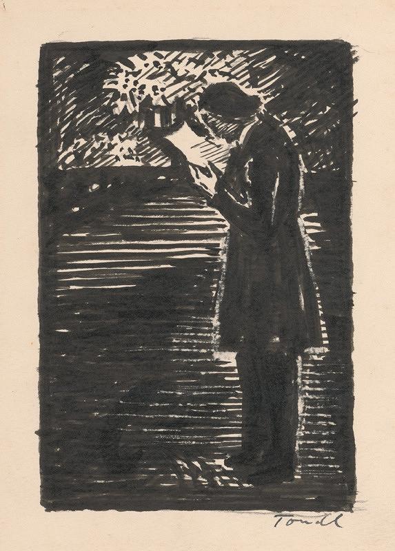 Karel Tondl – Čítajúci muž