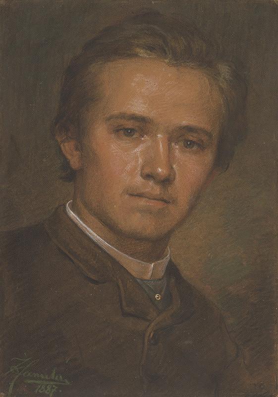Jozef Hanula - Podobizeň sochára Jančeka