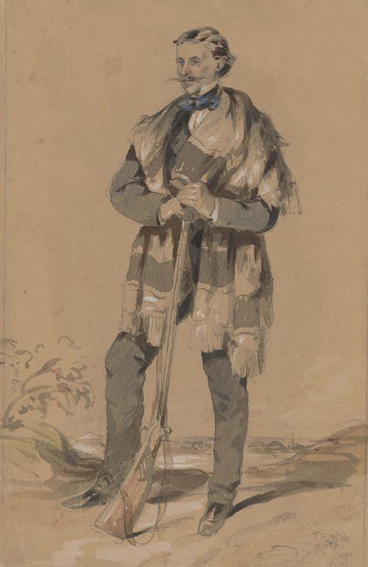 Friedrich Carl von Scheidlin - Muž s puškou