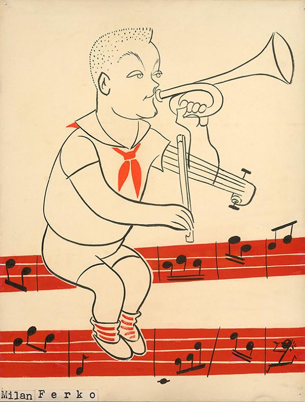 Alexander Richter – Karikatúra Milana Ferka