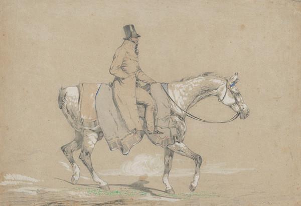 Friedrich Carl von Scheidlin - Jazdec