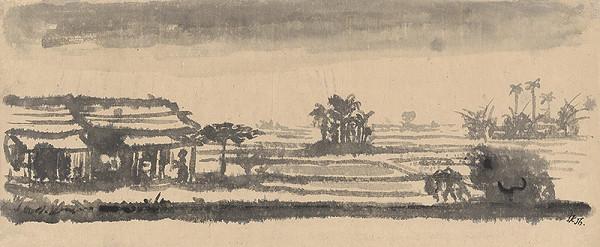 Ľubomír Kellenberger - Krajina z okolia Hanoia