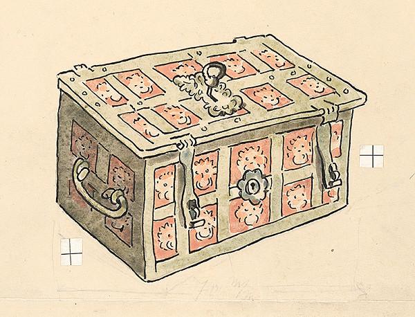 Jan Hála - Kovaná truhla