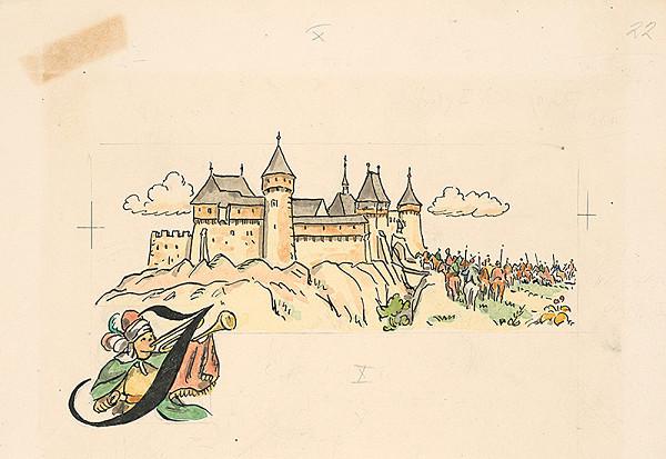 Jan Hála – Obliehanie hradu
