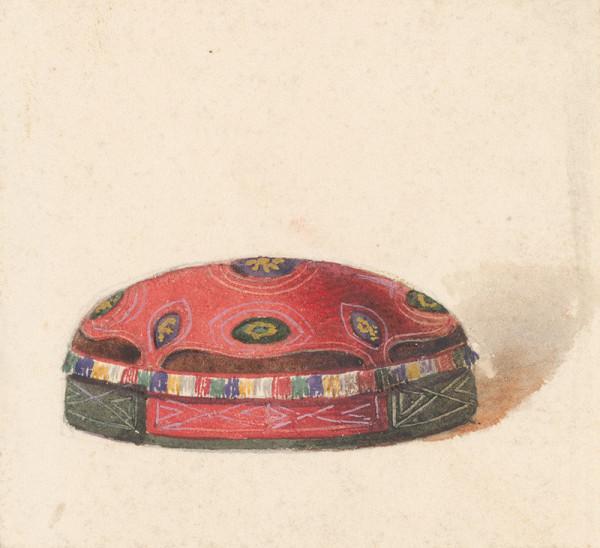Friedrich Carl von Scheidlin - Štúdia čiapočky