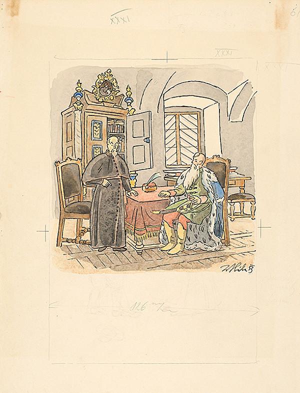 Jan Hála - Kňažská návšteva