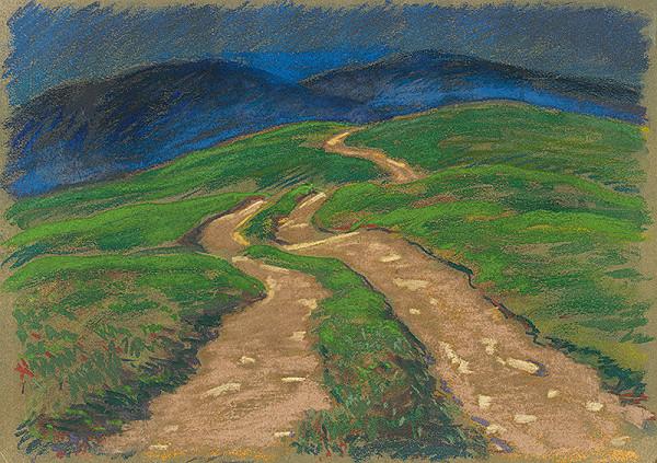 Edmund Gwerk - Poľná cesta