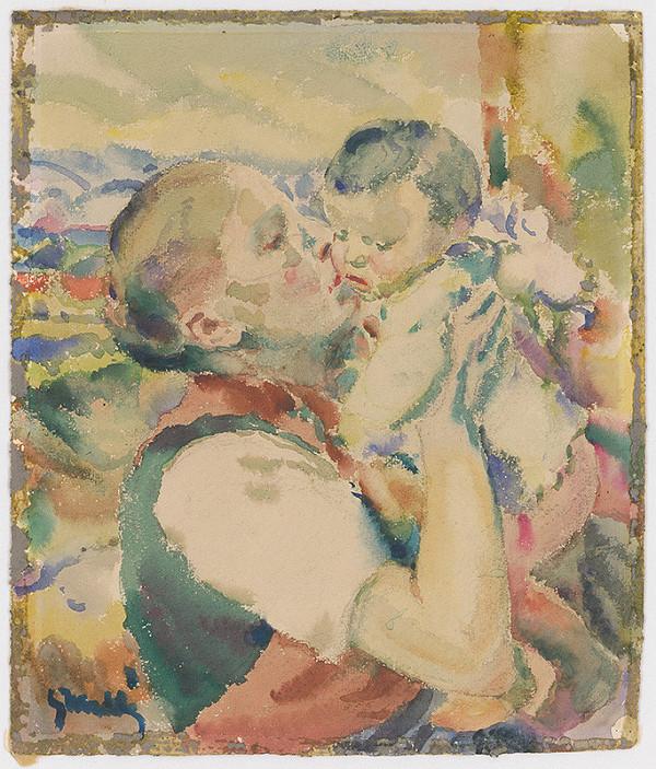Gustáv Mallý - Mladá matka