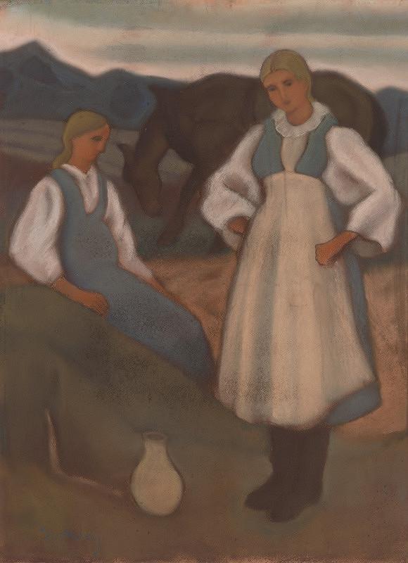 Janko Alexy – Dievčatá na poli