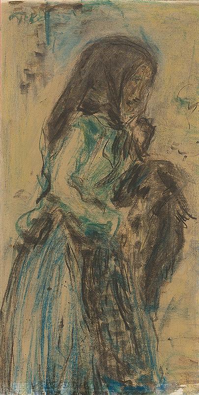 Teodor Tekel - Stará žena