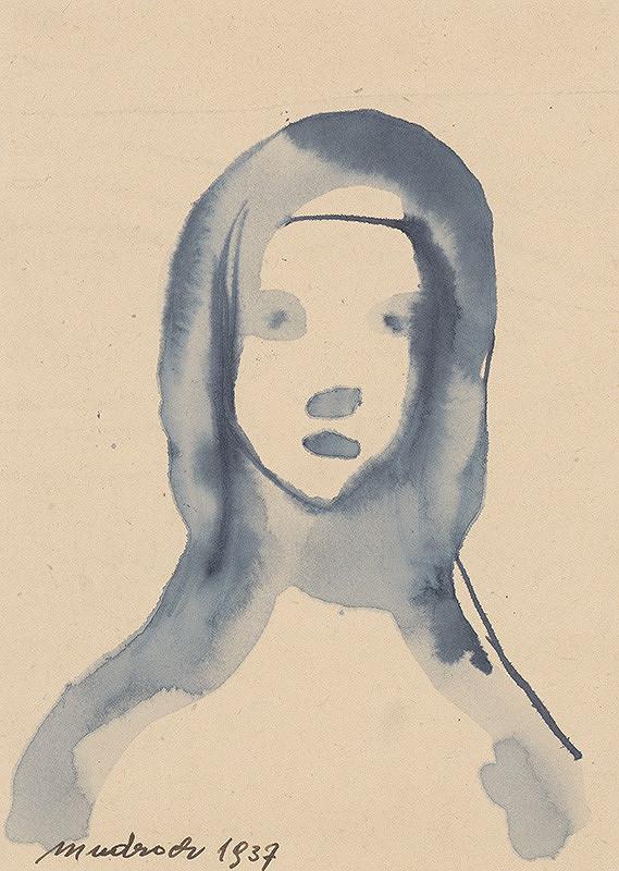 Ján Mudroch - Hlava dievčaťa