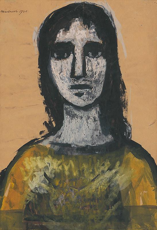 Ján Mudroch – Hlava mladej ženy