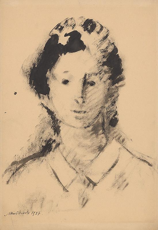 Ján Mudroch – Hlava dievčaťa