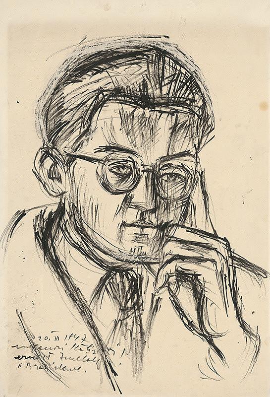 Ernest Zmeták - Podobizeň muža