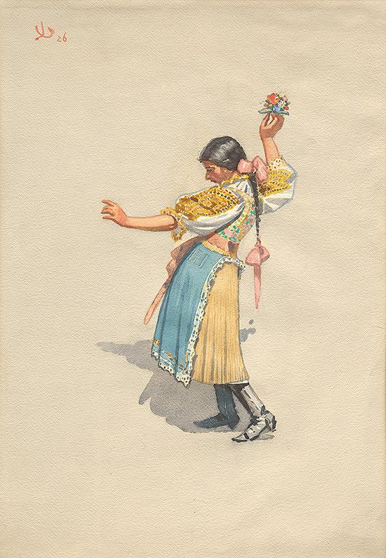 Joža Úprka – Piešťanská tanečnica
