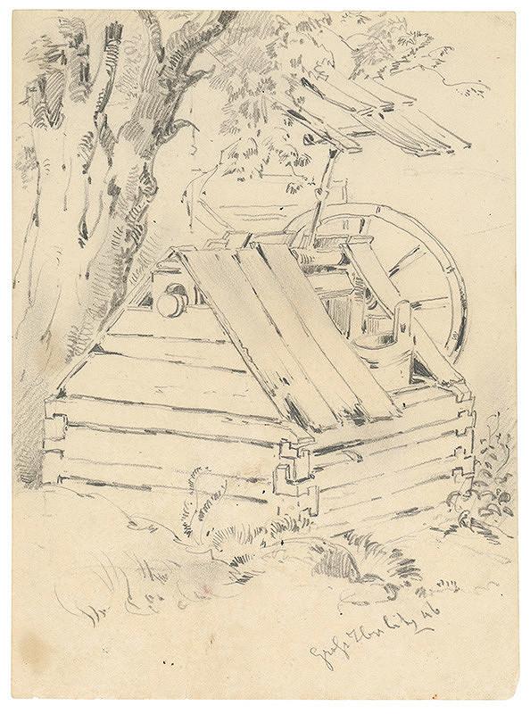 Friedrich Carl von Scheidlin – Studňa