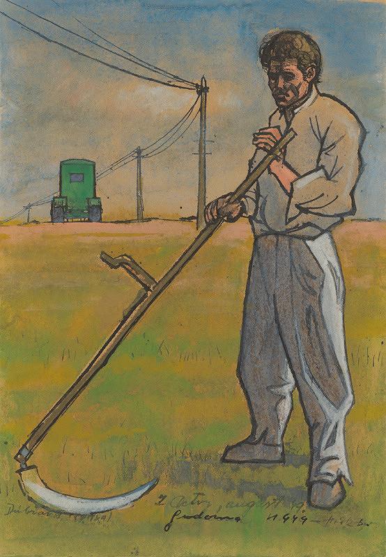 Ladislav Guderna – Kosec. Štúdia k obrazu Kosec a traktor