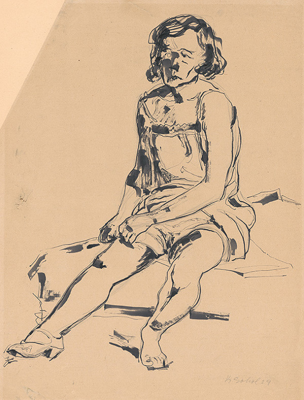 Koloman Sokol - Sediace dievča