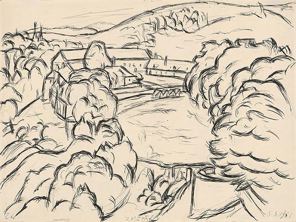 Ernest Zmeták - Výhľad z Červeného Kameňa