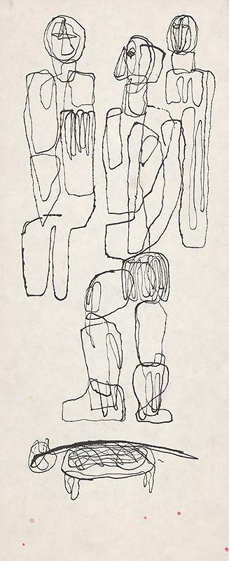 Milan Paštéka - Tri figúry