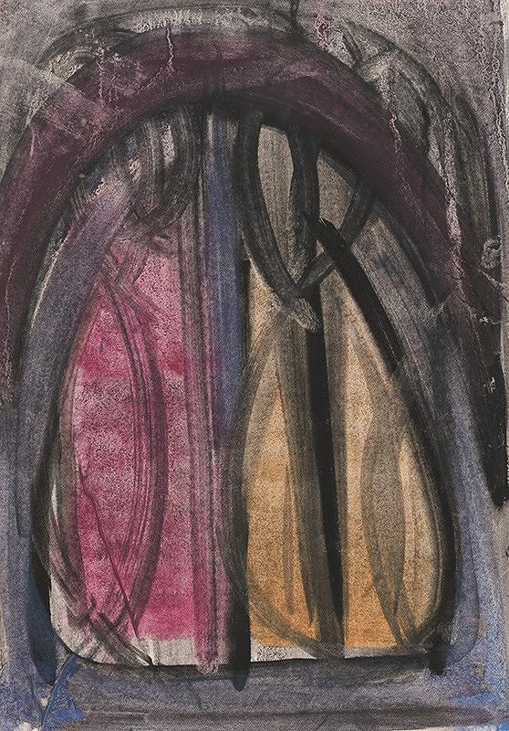 Milan Paštéka - Farebná štúdia k vitráži
