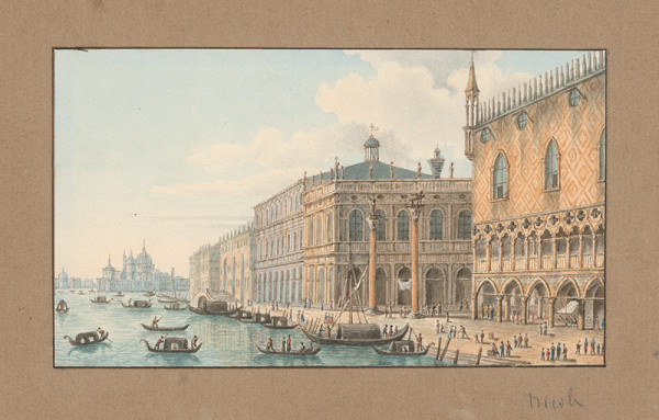 Taliansky maliar z 18. storočia - Benátky