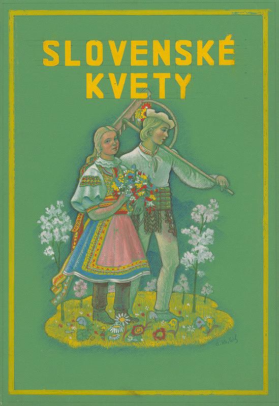 Aurel Kajlich - Slovenské kvety-obálka ku knihe