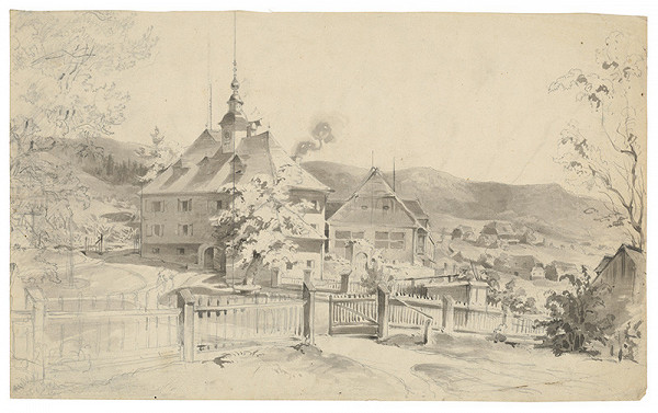 Friedrich Carl von Scheidlin – Panské sídlo v horskej dedinke