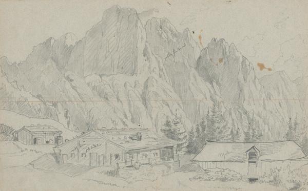 Friedrich Carl von Scheidlin – Alpská krajina