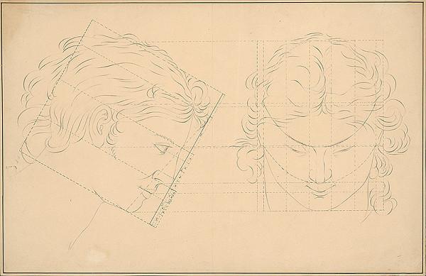 Ladislav Mednyánszky - Geometrické konštrukcie profilu a skratky hlavy