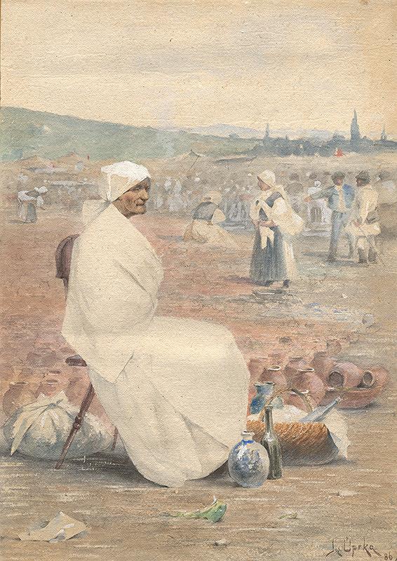Joža Úprka – Na myjavskom trhu