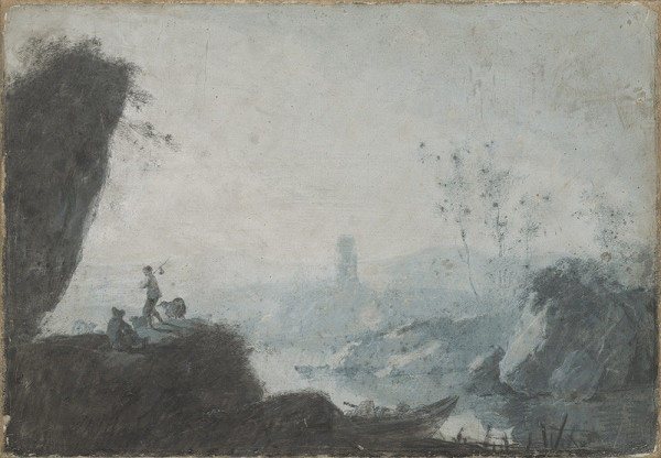 Jean Baptiste Pillement - Romantická krajina