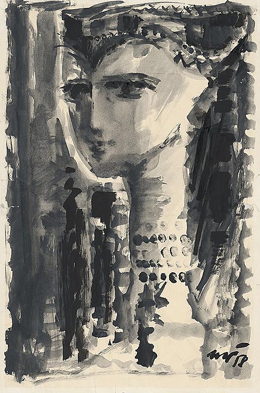 Marián Čunderlík – Dievča v kroji