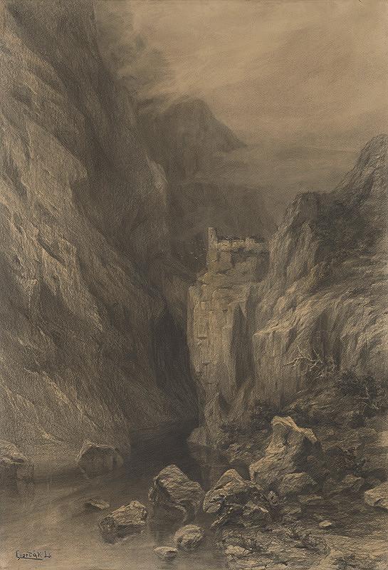 Ľudovít Čordák - Romantická krajina (Zádiel)