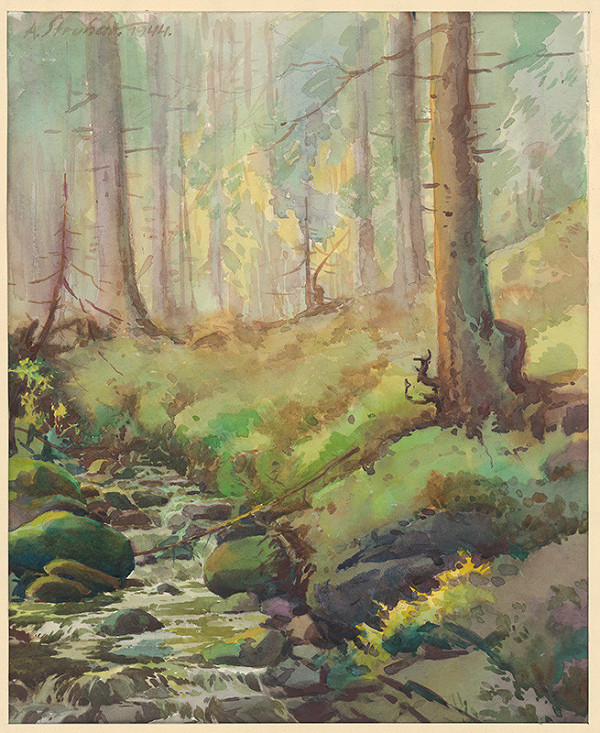 Alojz Struhár - Lesný potok