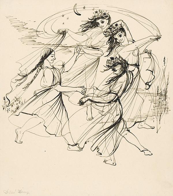 Mária Želibská – Tanec víl