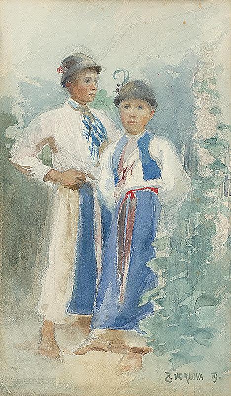 Zdeňka Vorlová - Deti - krojová štúdia