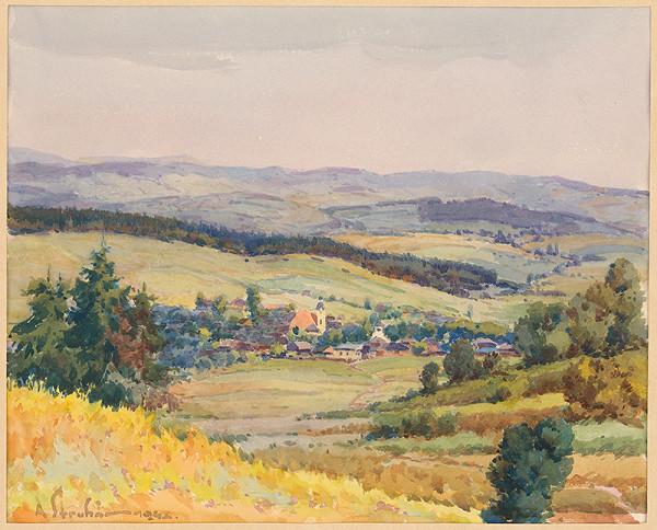 Alojz Struhár - Slovenská dedina