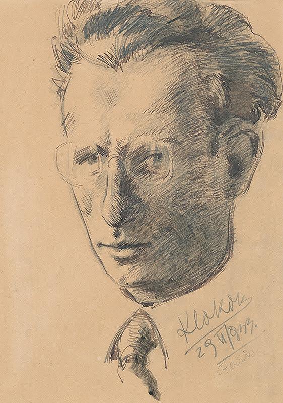 Koloman Sokol – Portrét dr. Ľ. Nováka