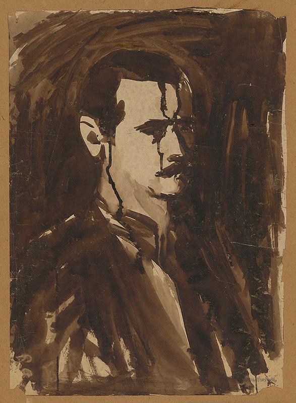 Ján Mudroch – Autoportrét