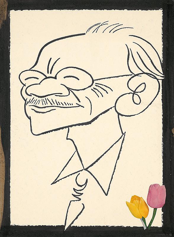 Alexander Richter – Karikatúra dr. Vl. Wágnera