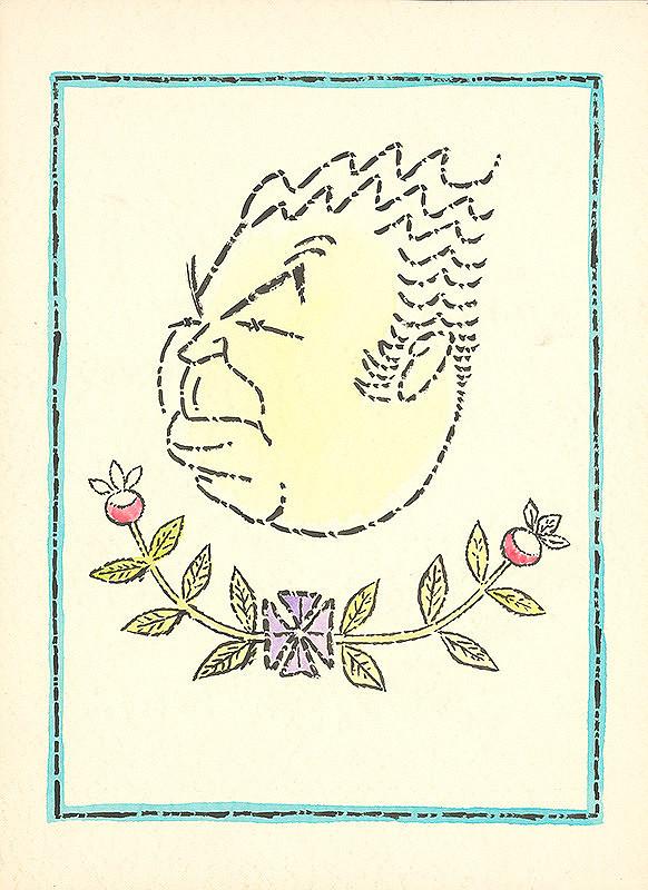 Alexander Richter – Karikatúra maliara Ľ. Fullu