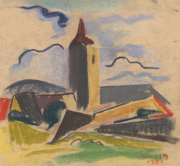 Zolo Palugyay - Dedinský kostolík
