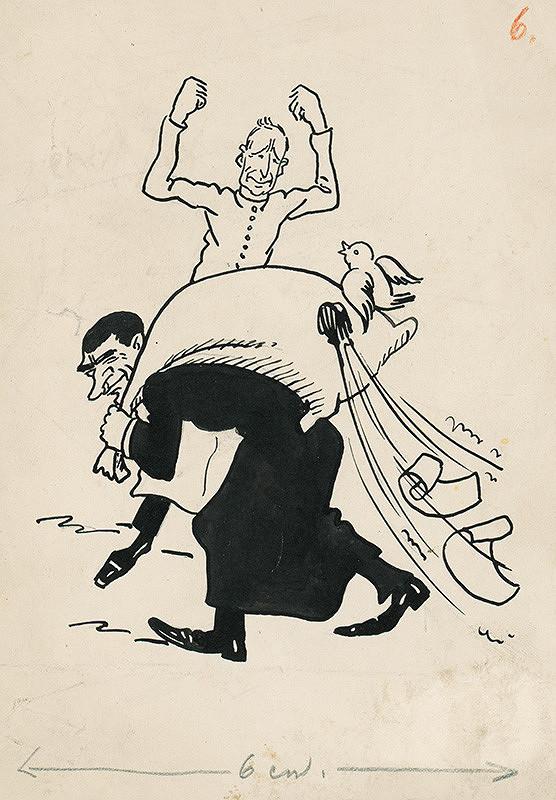Andrej Kováčik – Satirická kresba VI.