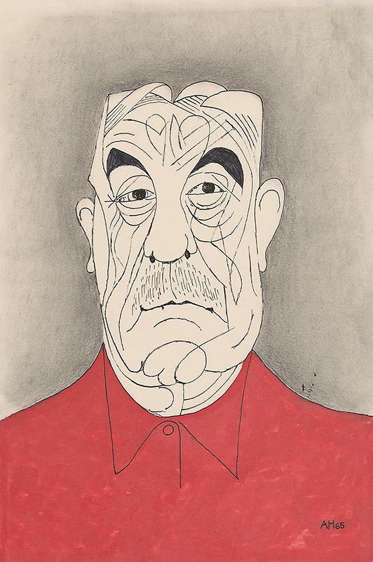 Adolf Hoffmeister – Červená košeľa