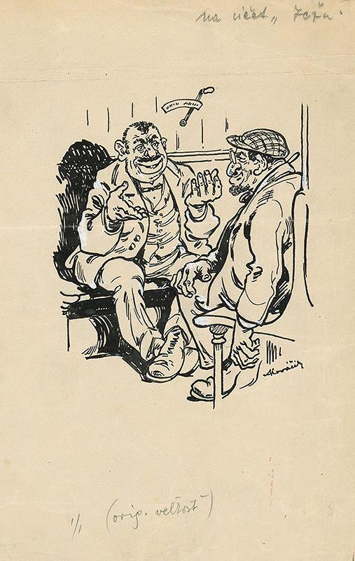 Andrej Kováčik - Satirická kresba pre časopis II.